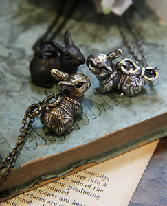 Vintage Rabbit Necklace 45cm