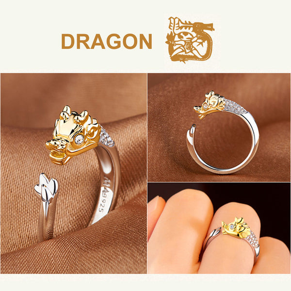 Elegant Crystal Animal Rings