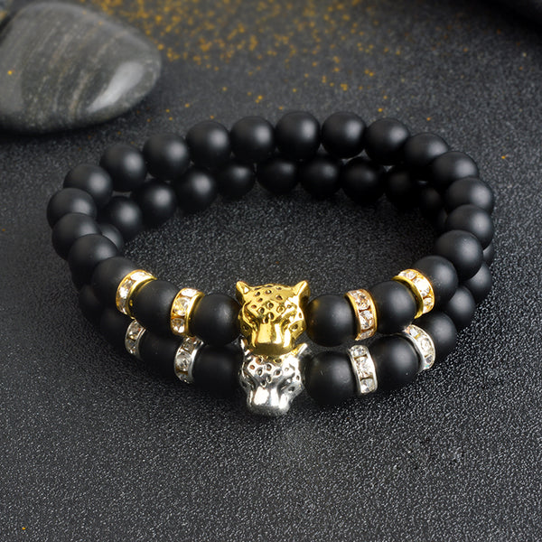 Onyx Stone Tiger Bracelet unique jewelry design GemCreature