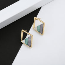 Load image into Gallery viewer, Sage & Grey Earrings