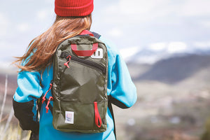 Topo Designs Trip Pack in Olive