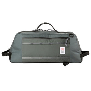 Topo Designs Travel Mountain Duffel Carry On Bag- Charcoal