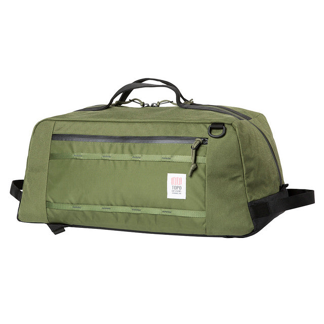 Topo Designs Travel Mountain Duffel Carry On Bag- Olive