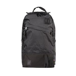 Topo Designs Daypack in X-Pac Black/Ballistic Black
