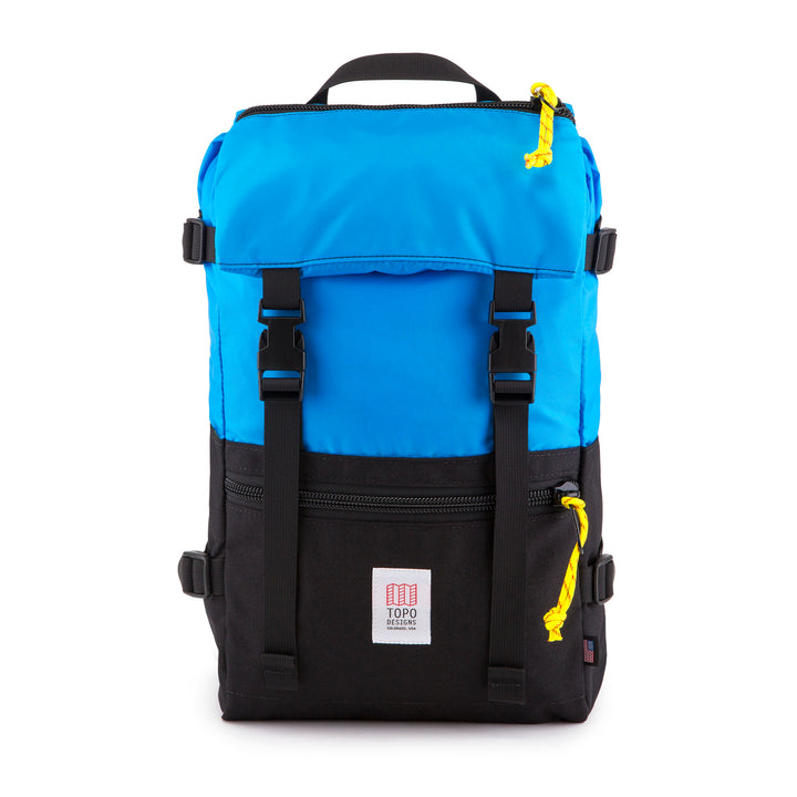Topo Designs Rover Pack Backpack in Royal/Black