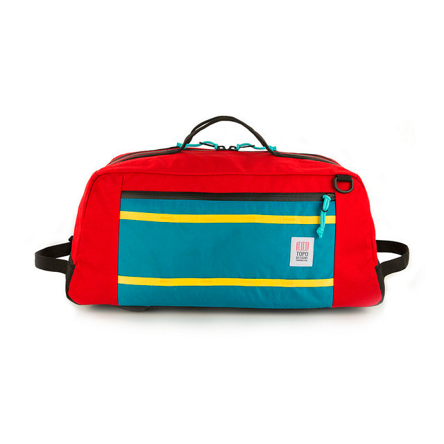 Topo Designs Travel Mountain Duffel Carry On Bag- Red