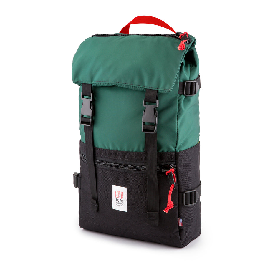 Topo Designs Rover Pack in Forest/Black