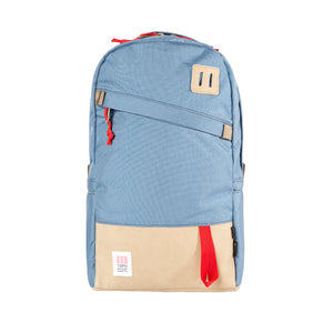 Topo Designs Daypack Storm/Khaki Leather