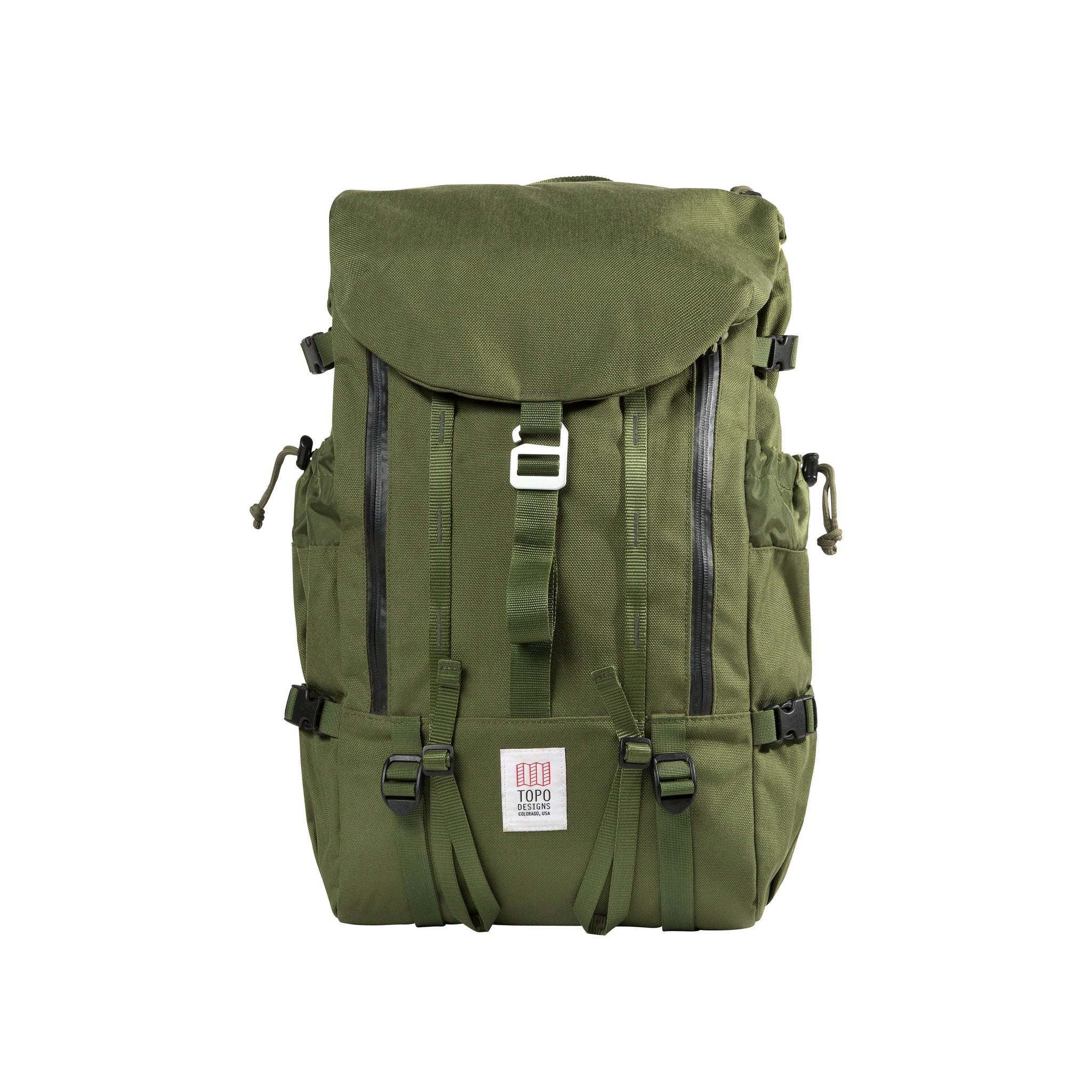 cea8f6542 Topo Designs Mountain Pack in Olive – Pagosa Outdoor & Apparel