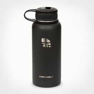 32oz Earthwell® Kewler Opener Vacuum Bottle - Volcanic Black