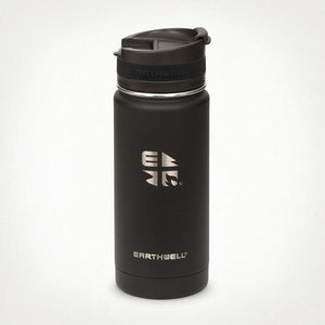 16oz Earthwell® Roaster Loop Cap Vacuum Bottle - Volcanic Black