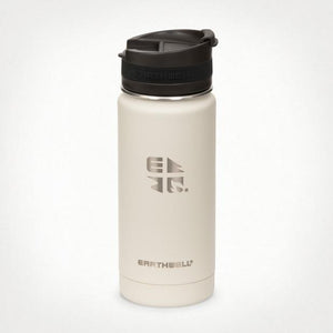 16oz Earthwell® Roaster Loop Cap Vacuum Bottle - Baja Sand
