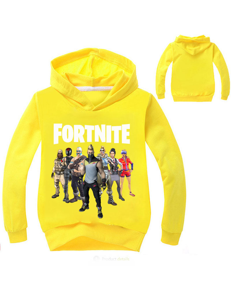 Fortnite Printed Pullover Hoodie For Kids
