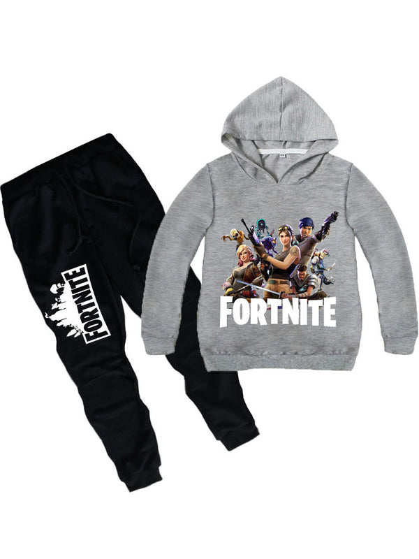 83447e91a2e ... Fortnite Casual Long Sleeve Two Piece Sets For Kids