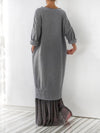 Casual Maxi Fall Dress