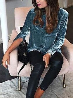 Casual Long Sleeve T-Shirts & Blouses