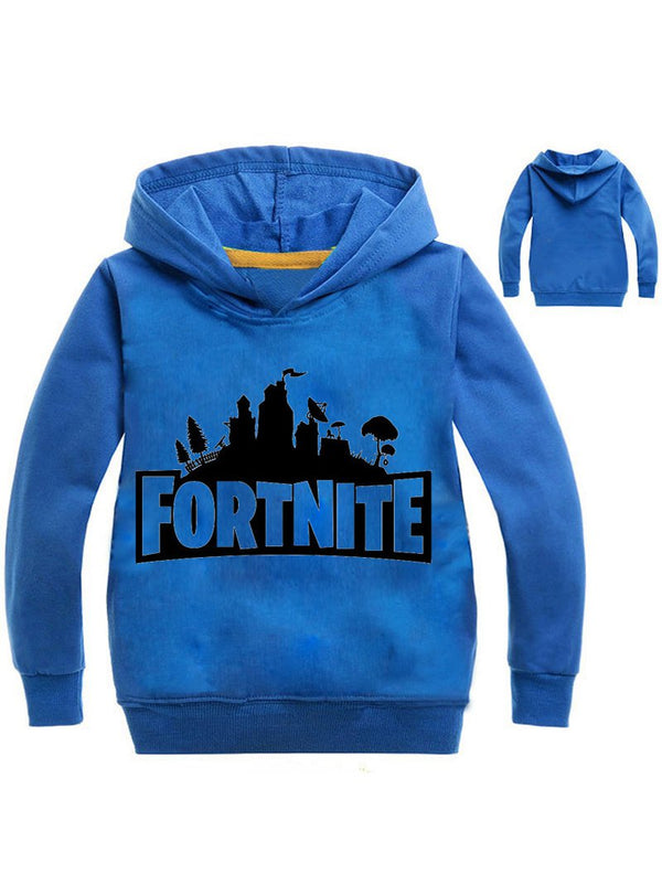Fortnite Kid's Cotton Pullover Graphic Hoodie