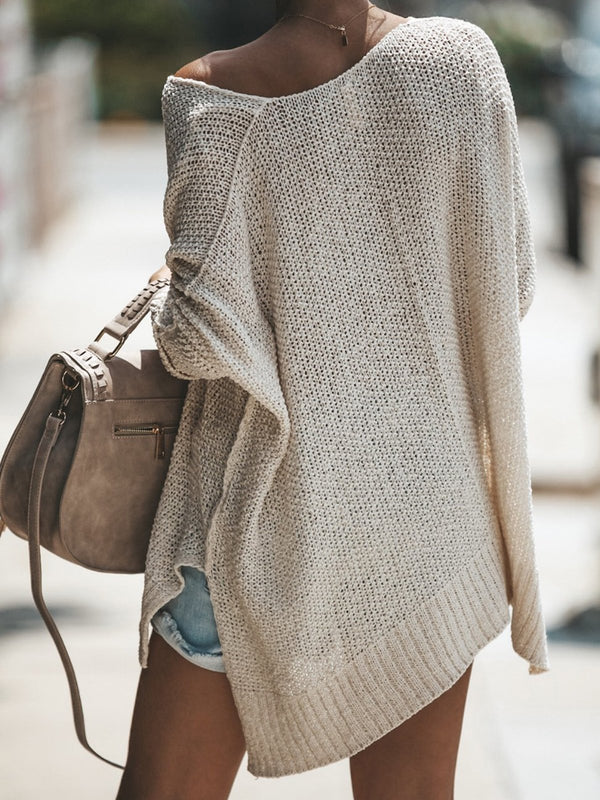 Cozy Knitted Pullover Sweater