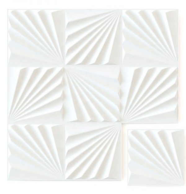 White Conch - Box per 12 Panels (32.9 ft²/3 m²)