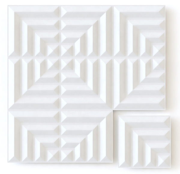 White Maze - Box per 12 Panels (32.9 ft²/3 m²)