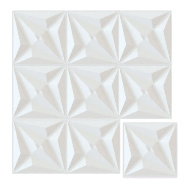 White Diamond - Box per 12 Panels (32.9 ft²/3 m²)
