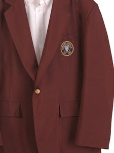 Maroon School Blazer with Patch