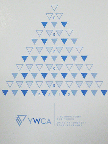 Carte de vœux « arbre de triangles »