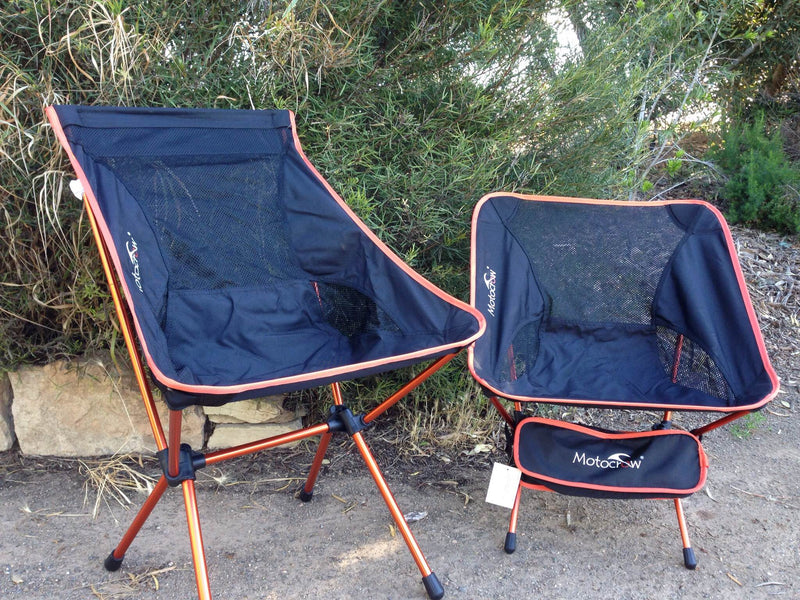 Lightweight Outdoor Folding Camp Chair Motocrow