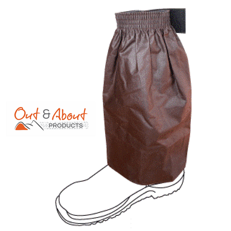 Over boots Oilskin Sock Protectors LONG Water Repellent Work Boot Cover 43cm Long