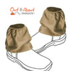 Over boots Sock Protectors Sock Savers 100% Cotton KHAKI Work Boot Covers 16cm
