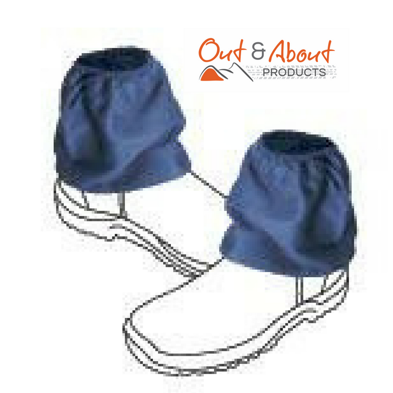 Over boots Sock Protectors Sock Savers 100% Cotton NAVY Work Boot Covers 16cm