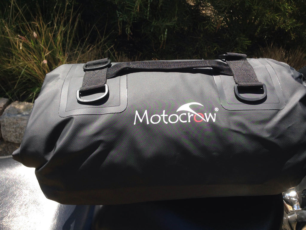 Waterproof  Motocrow Barrel Motorcycle Travel Bag 22 Litre