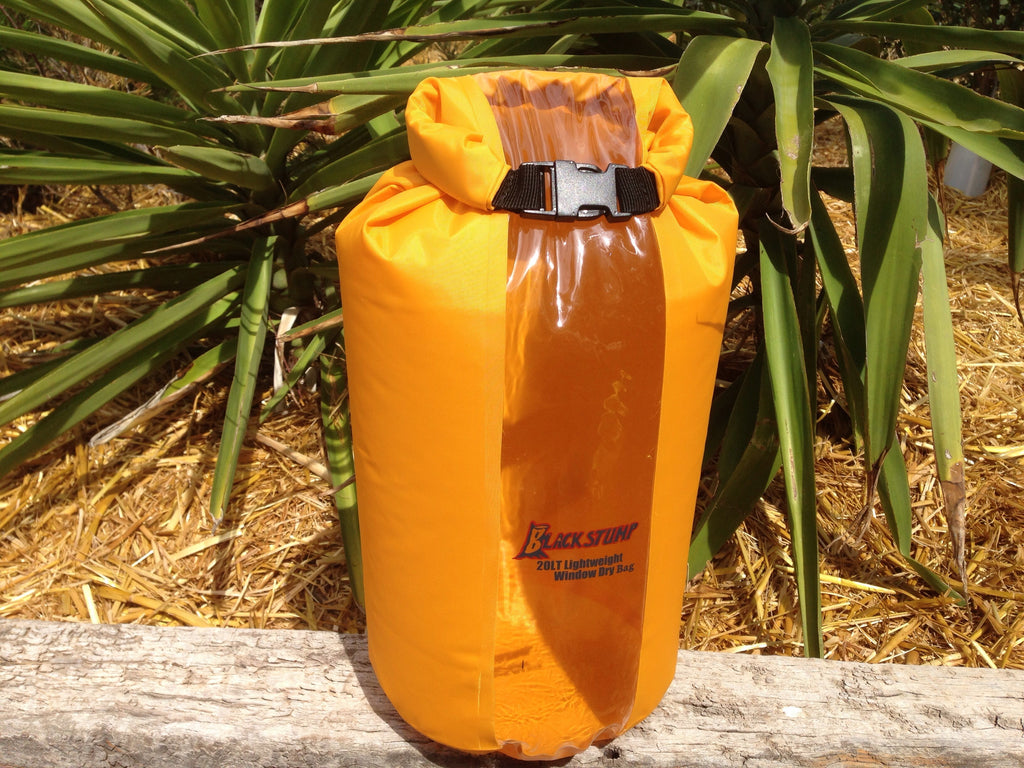 20L Waterproof Dry Barrel Travel Bag with Window