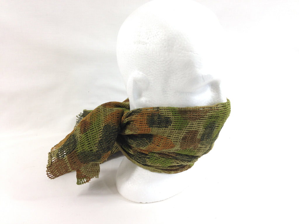 Scrim Net Scarf Auscam Military Camouflage