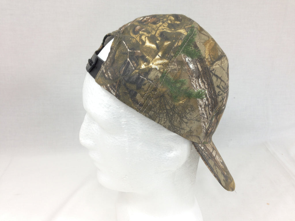 Bushcam Realtree Camouflage Peak Cap Army Style Hat