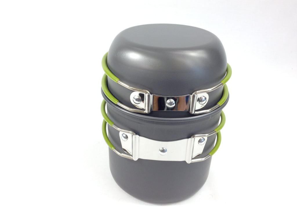 Mess Kit 2 Pot Stackable Mess Tins