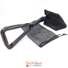 Folding Camp Shovel with Mesh Bag Tri-fold