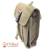 Heavy Duty Canvas Travel Shoulder Bag OLIVE