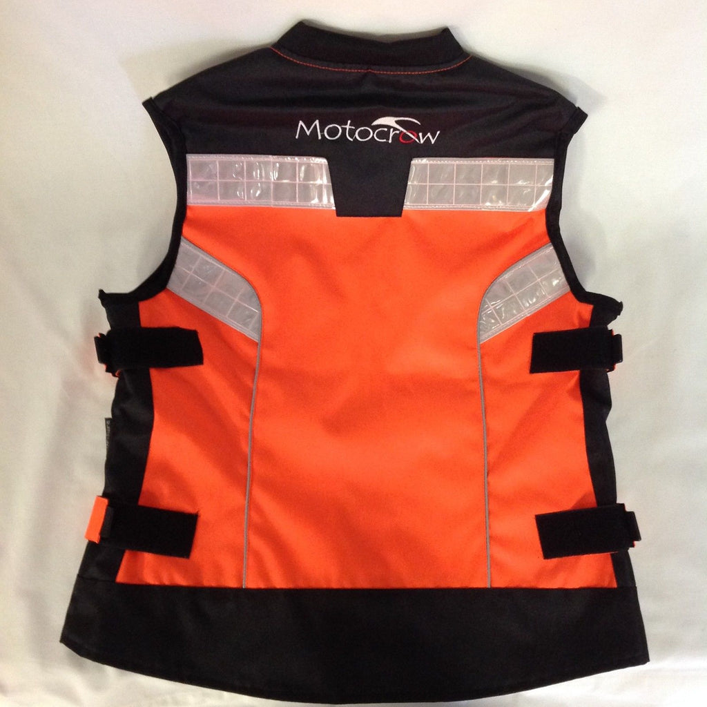 LADIES Vis Reflective Motorcycle Safety Vest