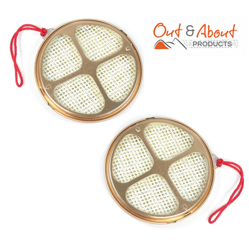 2 x Mosquito Mozzie Coil Insect Repellent Holder