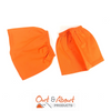 ORANGE Over boots Sock Protectors Sock Savers 100% Cotton  Work Boot Covers 16cm