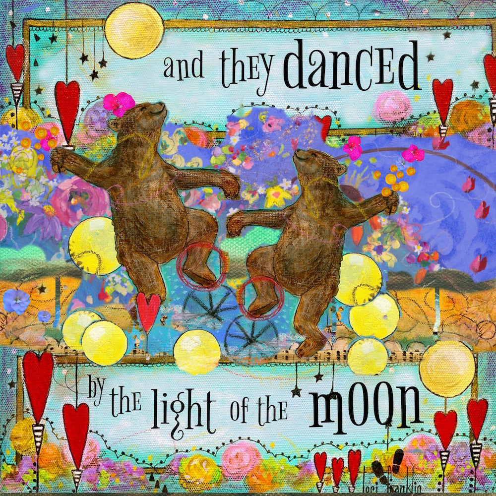 'And They Danced by the Light of the Moon' Canvas Reproduction
