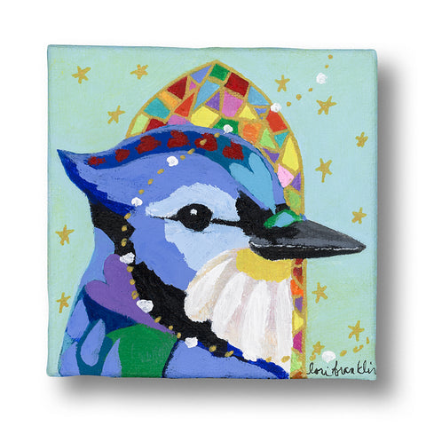 Blue Jay Choirbird - SOLD