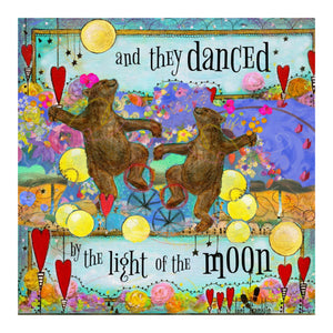 And They Danced poster - artwork by Lori Franklin