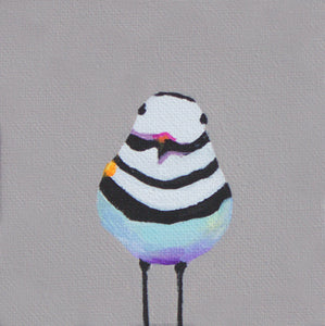"Killdeer - 6"" x 6"" canvas reproduction"