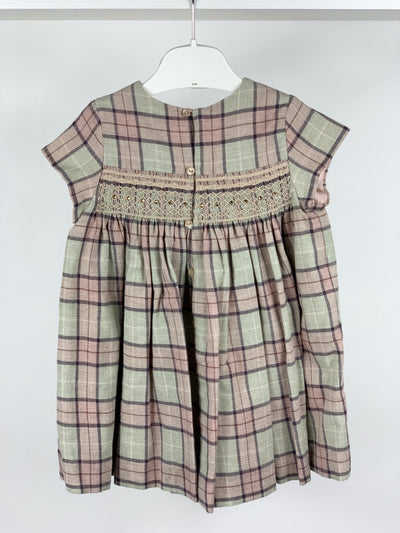 Robe Bonpoint à smocks 2 ans