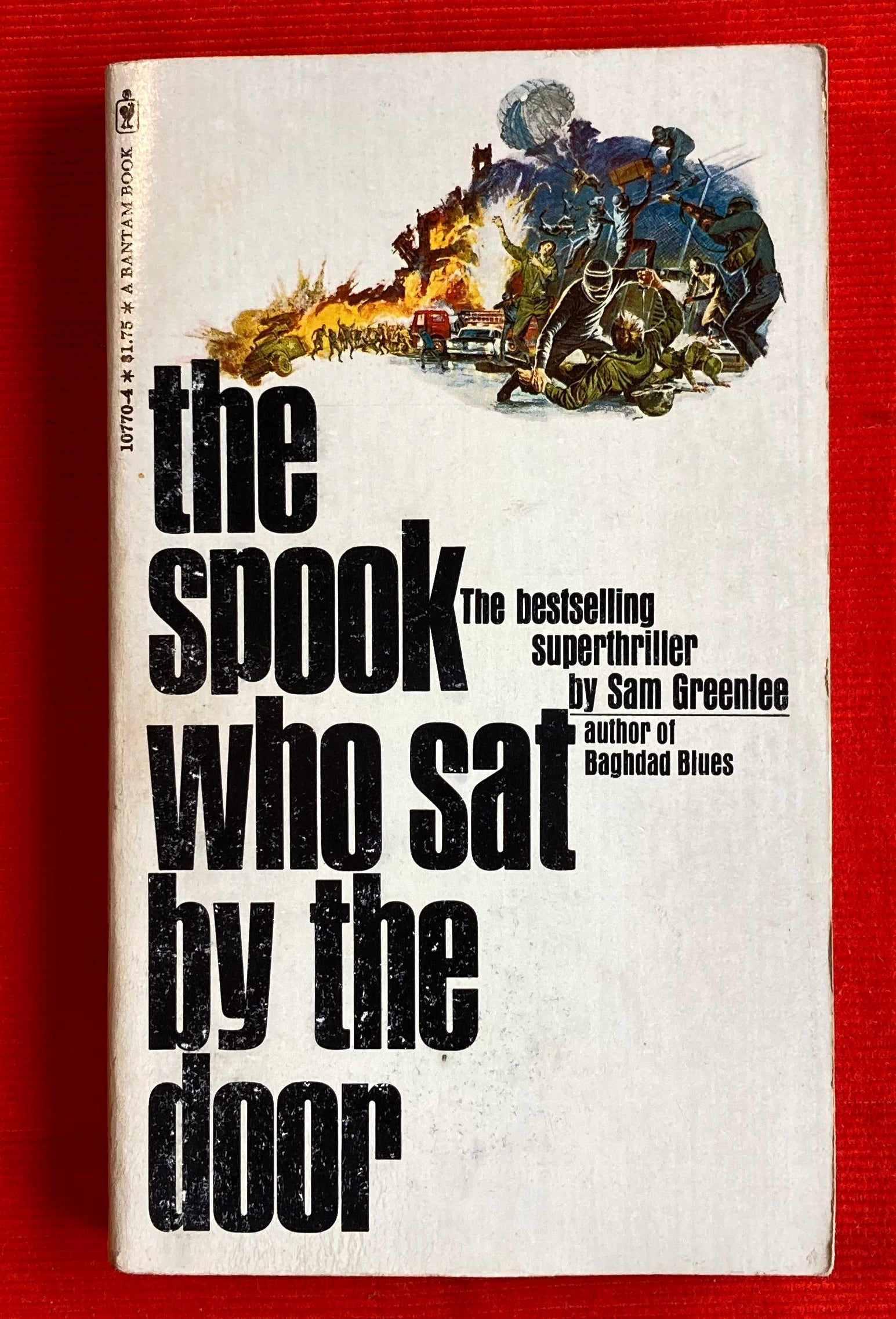 1970 The Spook Who Sat by the Door Bantam Paperback Sam Greenlee