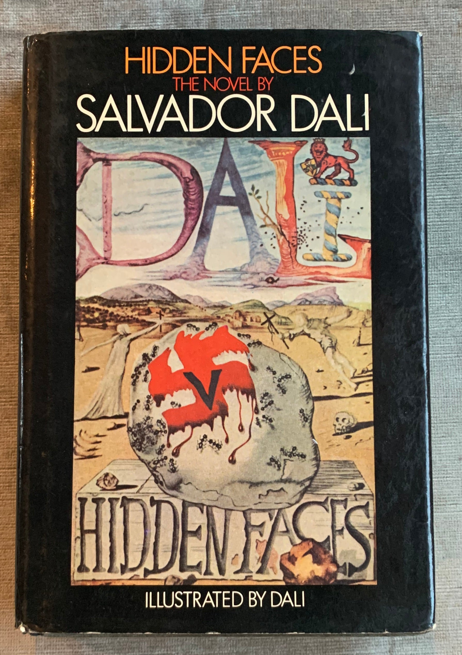 """Hidden Faces"" by Salvador Dalí"