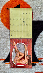 1972 Nude Pin Up Calendar