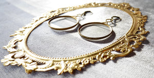 Antique Optical Lens Earrings!